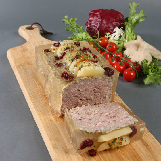 Picture of Pork and Wild Boar pâté with Juniper Berries