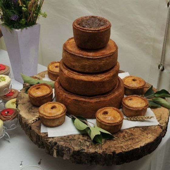 Picture of Pork Pie Wedding and Celebration Cakes