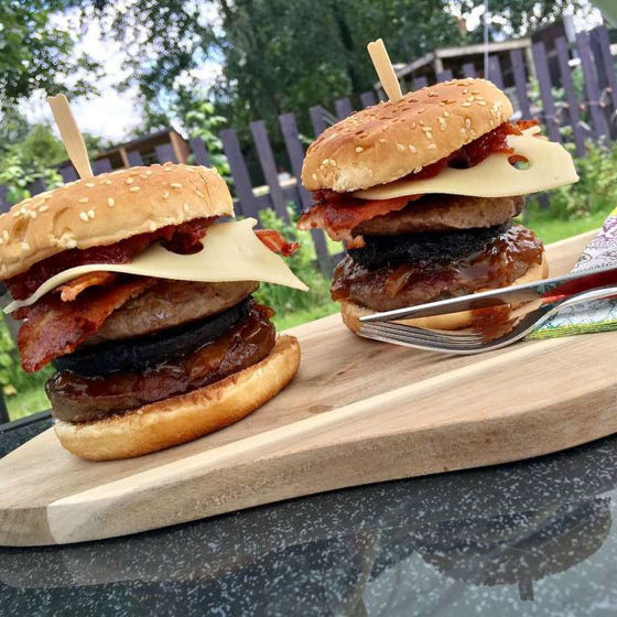 Picture of Pork and Venison Burgers (Frozen)
