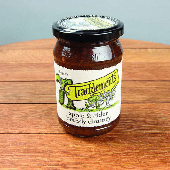Picture of Tracklements Apple & Cider Brandy Chutney (320g)