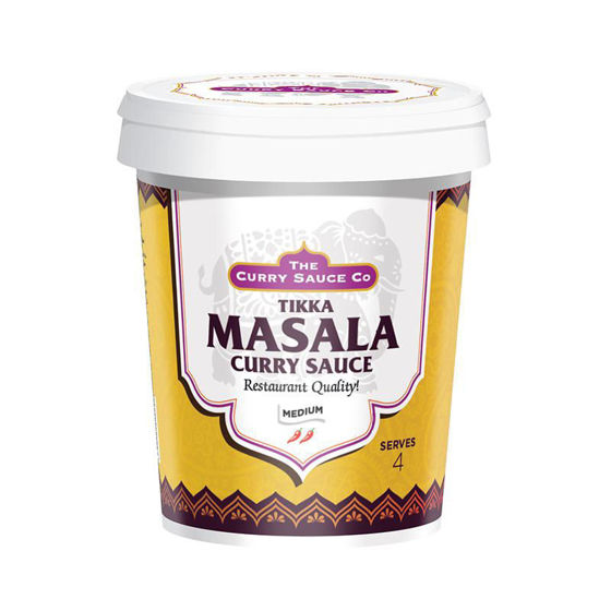 Picture of The Curry Sauce Co Tikka Masala Sauce