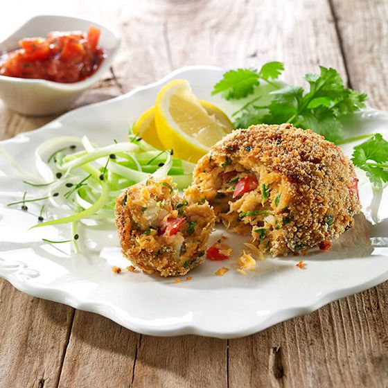 East Coast Crab Cakes at The Country Victualler
